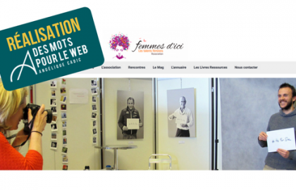 Femmes d'Ici : un site fonctionnel et authentique