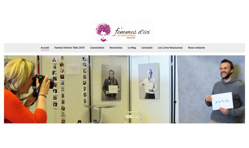 Femmes d'Ici, rédaction du contenu web