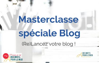 masterclasse blog